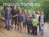Учебно-тренировочный сбор отделения скалолазания - Хорватия 2013 года. Тренер-преподаватель Шайгарданова Ф.Я.